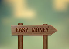 Easy money Stock Image
