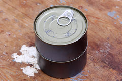 Easy open tuna can or tin can Stock Images