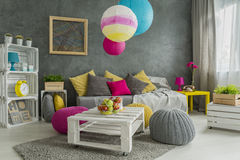 Easy room makeover Stock Images
