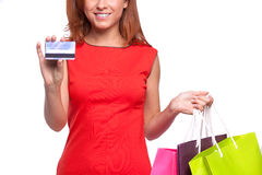 Easy shopping. Royalty Free Stock Image
