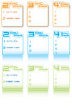 Easy Steps Information Graphics Royalty Free Stock Images