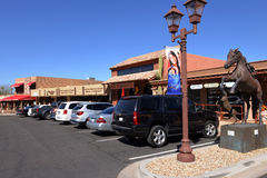 Easy Street in Carefree AZ Stock Images