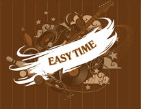 Easy time. Entertainment composition - set. Royalty Free Stock Image