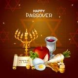 Jewish holiday of Passover Pesach Seder Stock Photos