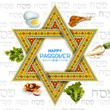 Jewish holiday of Passover Pesach Seder Royalty Free Stock Images
