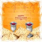 Jewish holiday of Passover Pesach Seder Stock Photo