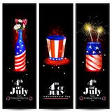 4th of July Independence Day of America background. Easy to edit vector illustration of 4th of July Independence Day of America background Stock Photo
