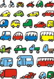Easy transportation vehicle collection Stock Photography