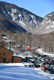 Easy way Gondola lift at Stowe Ski Resort in Vermont