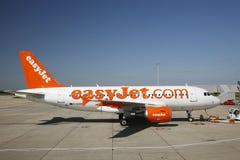 EasyJet空中巴士A319 免版税库存照片