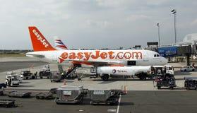 EasyJet空中巴士A319 图库摄影