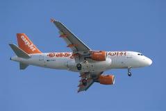 easyjet Боинга авиакомпании Стоковое фото RF