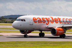 Easyjet A319 Fotos de Stock Royalty Free