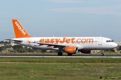 Easyjet A320 Fotografia de Stock Royalty Free