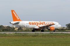 Easyjet A320 Imagem de Stock Royalty Free