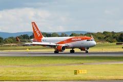 Easyjet A319 Fotos de Stock