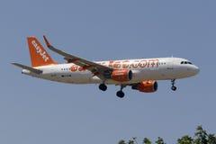 Easyjet A320 Lizenzfreies Stockbild