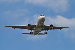 Easyjet A319 Images libres de droits