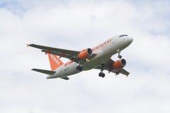 Easyjet A319 Foto de Stock Royalty Free