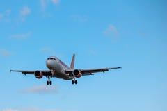 Easyjet Aerobus Obrazy Stock