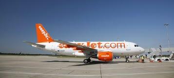 easyJet Aerobus A319 Fotografia Stock