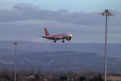 EasyJet Airbus A319 Fotos de Stock Royalty Free