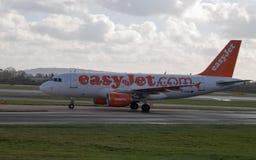 Easyjet Airbus A319 Fotografia de Stock