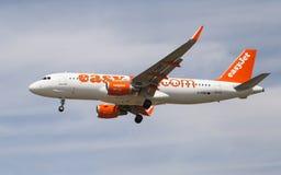 Easyjet Airbus A320 Fotografia de Stock Royalty Free