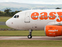 Easyjet Airbus A319 Fotografia de Stock Royalty Free