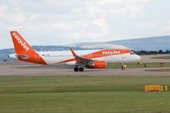 Easyjet Airbus A319 Foto de Stock Royalty Free