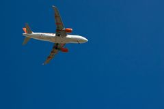 Easyjet Airbus A319-111 Royalty Free Stock Photos