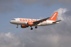 Easyjet Airbus A319 Photo stock