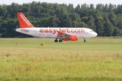 Easyjet Airbus A319 royalty free stock photo
