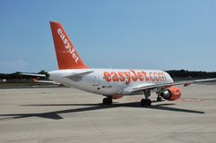 EasyJet Airbus A319 Royalty Free Stock Photo