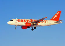 Easyjet Airbus A319 Royalty Free Stock Photography