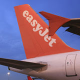 EasyJet Airbus A319 Stockfotos