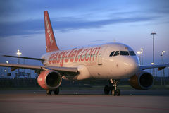 EasyJet Airbus A319 Royalty Free Stock Photos