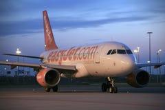 EasyJet Airbus A319 Lizenzfreie Stockfotos