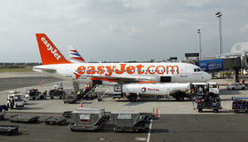EasyJet Airbus A319 Stockfotografie