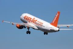 Easyjet Airbus Stock Photo