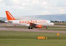 EasyJet Airbus A319 Stock Images