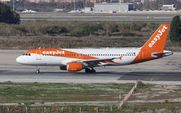 Easyjet Airbus A320 Taxiing Royalty Free Stock Image
