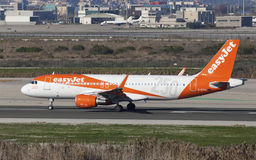 Easyjet Airbus A320 250th Airbus Livery Taxiing Stock Photography