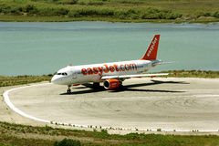 EasyJet aircraft Royalty Free Stock Photo