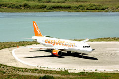 EasyJet aircraft Royalty Free Stock Image