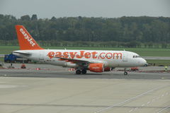 Easyjet aircraft Royalty Free Stock Photo
