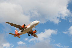 Easyjet airlines plane Stock Photography
