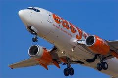 EasyJet Boeing 737 Fotografia de Stock