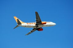 Easyjet Boeing 737-700. Stock Photo