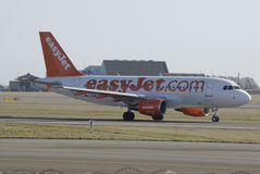 EasyJet-COM combattent Photo stock